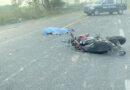 Muere motociclista durante fuerte accidente, en Tecomán